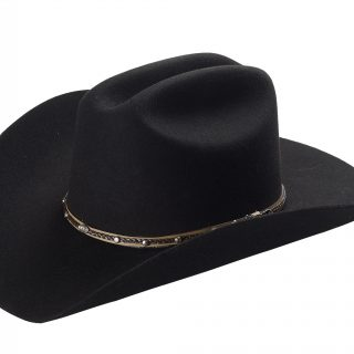 ESTAMPIDA Felt Hats, Joan Sebastian 20X Black