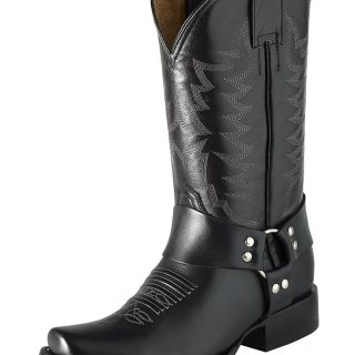 ESTAMPIDA Men´s Western Boots Black