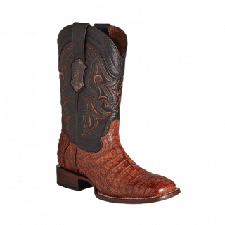 ESTAMPIDA Men´s Exotic Boots Conag /Alligator Belly-Goat
