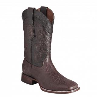ESTAMPIDA Men´s Exotic Boots Brown – Shark/Goat