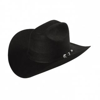 ESTAMPIDA Felt Hats, Malboro Beaver 6X Black