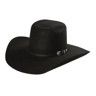 ESTAMPIDA Felt Hats, Capataz Longhorn 50X Black