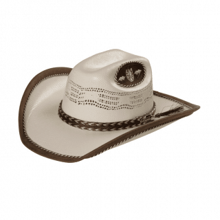 ESTAMPIDA Kid´s Hats 50X, Brown Rib Dallitas
