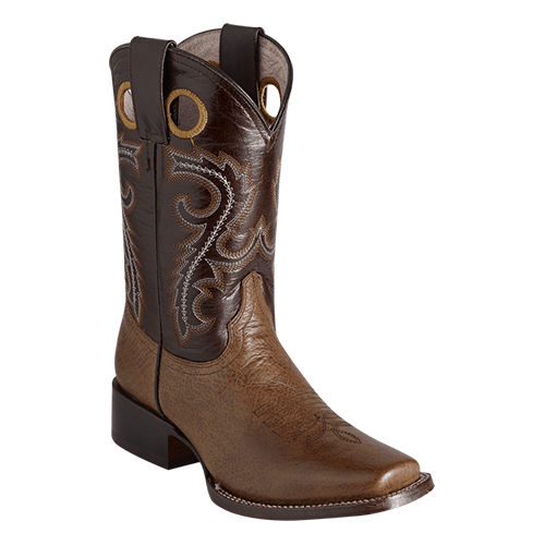 ESTAMPIDA  Teen´s Boots, Camel/Brown – Bisonte/Wax