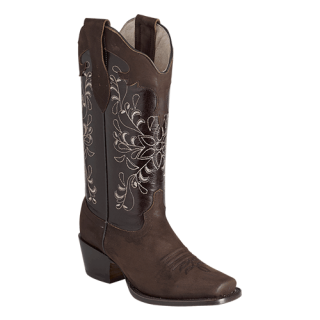 ESTAMPIDA  Women´s Boots, Brown – Crazy/Wax