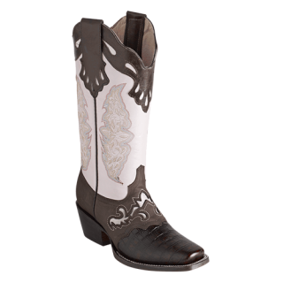 ESTAMPIDA  Women´s Boots, Shedron/Brown/Pale - Coco Print
