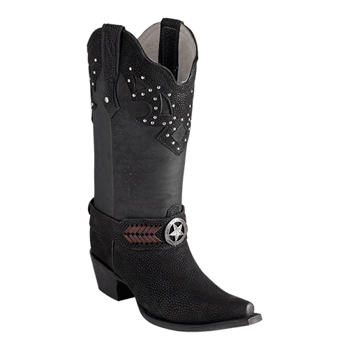 ESTAMPIDA Women´s Boots, Black – Thomson/Crazy