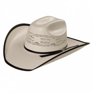 ESTAMPIDA Straw Hats Mezquite Rib Black 50X