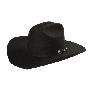 ESTAMPIDA Felt Hats, Monterrey 20X Black