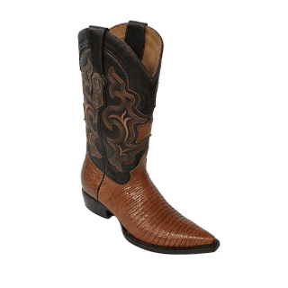 ESTAMPIDA Men´s Exotic Boots Honey/Brown - Lizard/Goat