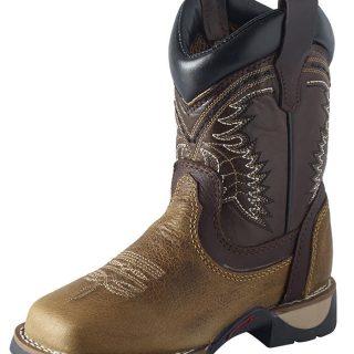 ESTAMPIDA  Kid´s Boots, Honey/Choco – Nevada/Crazy