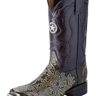 ESTAMPIDA Men´s Western Boots, Brown