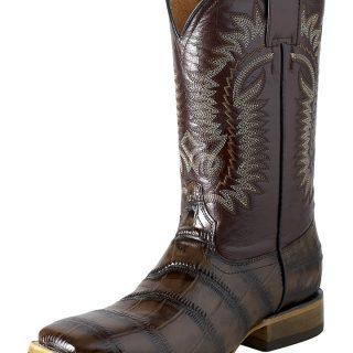 ESTAMPIDA Men´s Western Boots, Brown-Macro Coco Print