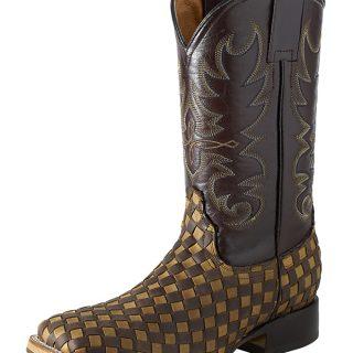 ESTAMPIDA Men´s Western Boots, Brown/Honey