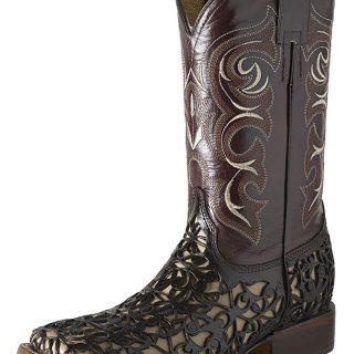 ESTAMPIDA Men´s Western Boots, Brown/Camel