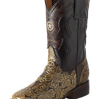 ESTAMPIDA Teen´s Boots, Brown – Cinc. Leather