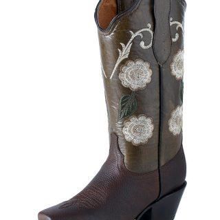 ESTAMPIDA Women´s Boots, Expresso/Caviar – Taureg/Batik