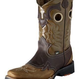 ESTAMPIDA Men´s Work Boots – Campera - Honey/Brown