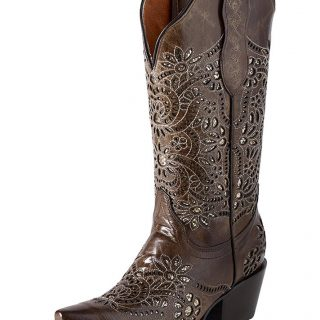ESTAMPIDA Women´s Boots, Camel – Crater