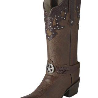 ESTAMPIDA Women´s Boots, Bronze – Zahara