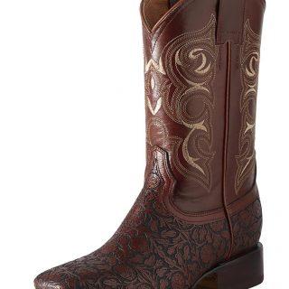 ESTAMPIDA Men´s Western Boots Honey/Brandy