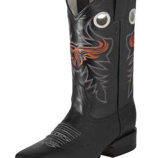 ESTAMPIDA Men´s Western Boots, Black