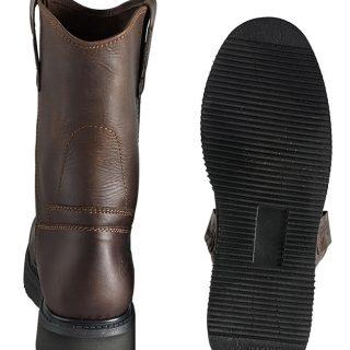 ESTAMPIDA Men´s Work Boots – Rayas- Dark Brown