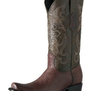 ESTAMPIDA Men´s Exotic Boots, Brown-Amberes/Res