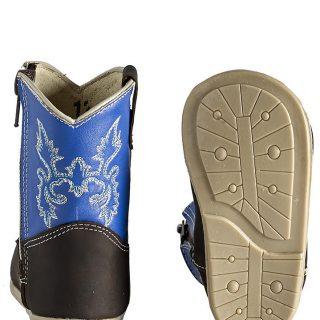 ESTAMPIDA Baby´s Boots, Brown/Blue – Crazy