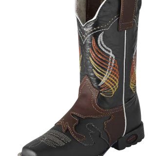 ESTAMPIDA Kid´s Boots, Black/Shed – Crazy/Wax