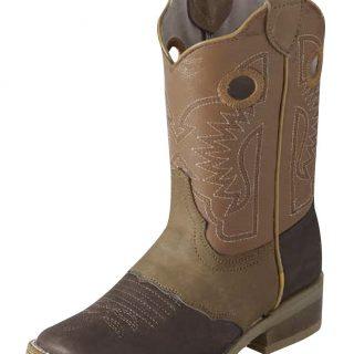 ESTAMPIDA Kid´s Boots, Brown/Honey – Crazy