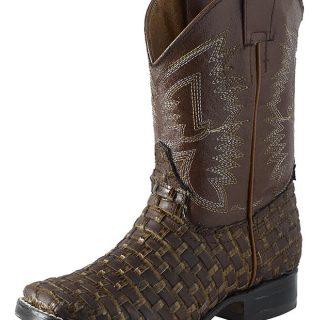 ESTAMPIDA Kid´s Boots, Honey/Brown – Lizard GB
