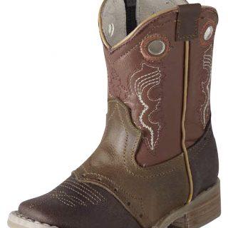 ESTAMPIDA Baby´s Boots, Brown/Honey – Crazy/Natura