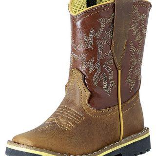 ESTAMPIDA Baby´s Boots, Honey/Brandy – Crazy
