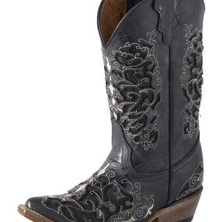 ESTAMPIDA Kid´s Boots, Black – Crater