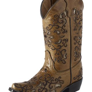 ESTAMPIDA Kid´s Boots, Honey – Crater