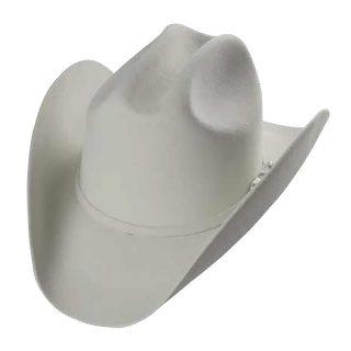 ESTAMPIDA Felt Hats, Durango 50X White