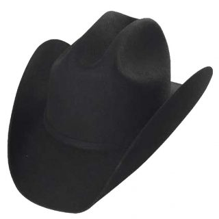 ESTAMPIDA Felt Hats, Durango 20X Black