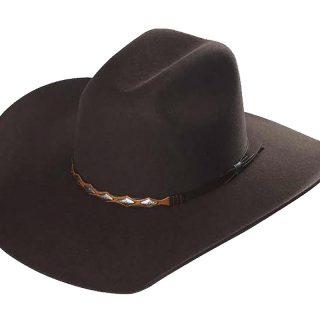 ESTAMPIDA Felt Hats, Toro 20X Chocolate