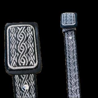 ESTAMPIDA – Belt for adult, machine embroidered