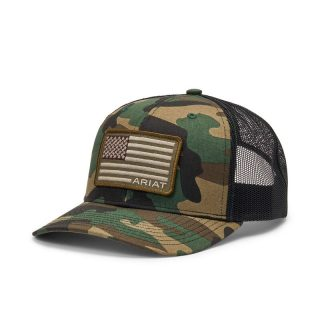 ARIAT - Flag Patch Cap.  FREE SHIPPING