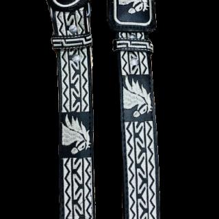 ESTAMPIDA – Belt for adult, machine embroidered - Horse