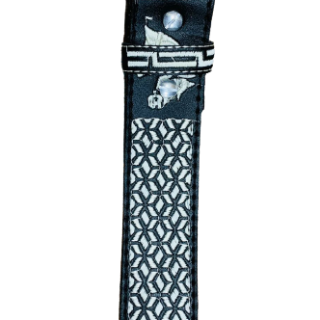 ESTAMPIDA – Belt for adult, machine embroidered – Horse