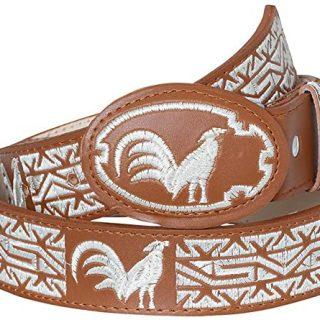 ESTAMPIDA KID´S-Embroidered Belt with Thread -  Rooster