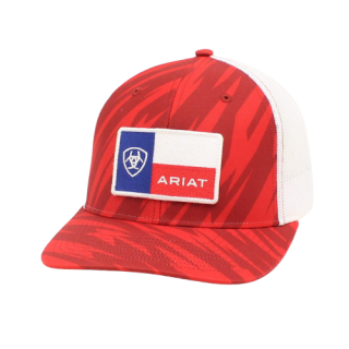 ARIAT  Cap with Flag patch.  FREE SHIPPING