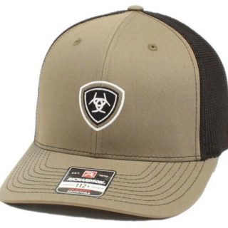 ARIAT - Green Cap with front patch. FREE SHIPPING