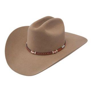 STETSON 6X Fawn Monterrey, Felt Hat. FREE SHIPPING !