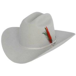 STETSON 6X Silver Grey Rancher, Felt Hat. FREE SHIPPING !